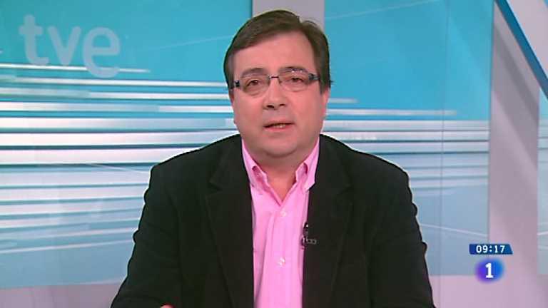 Los desayunos de TVE - Guillermo Fernández Vara, secretario general del PSOE de Extremadura / Alberto de las Heras, catedrático de Derecho Canónico