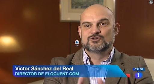 victor sanchez en RTVE en febrero 2013