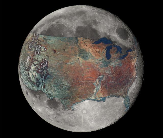 luna continente