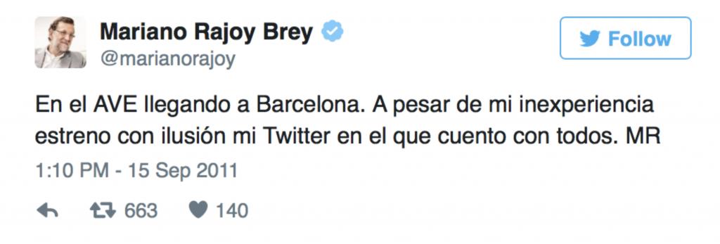 tuit Rajoy