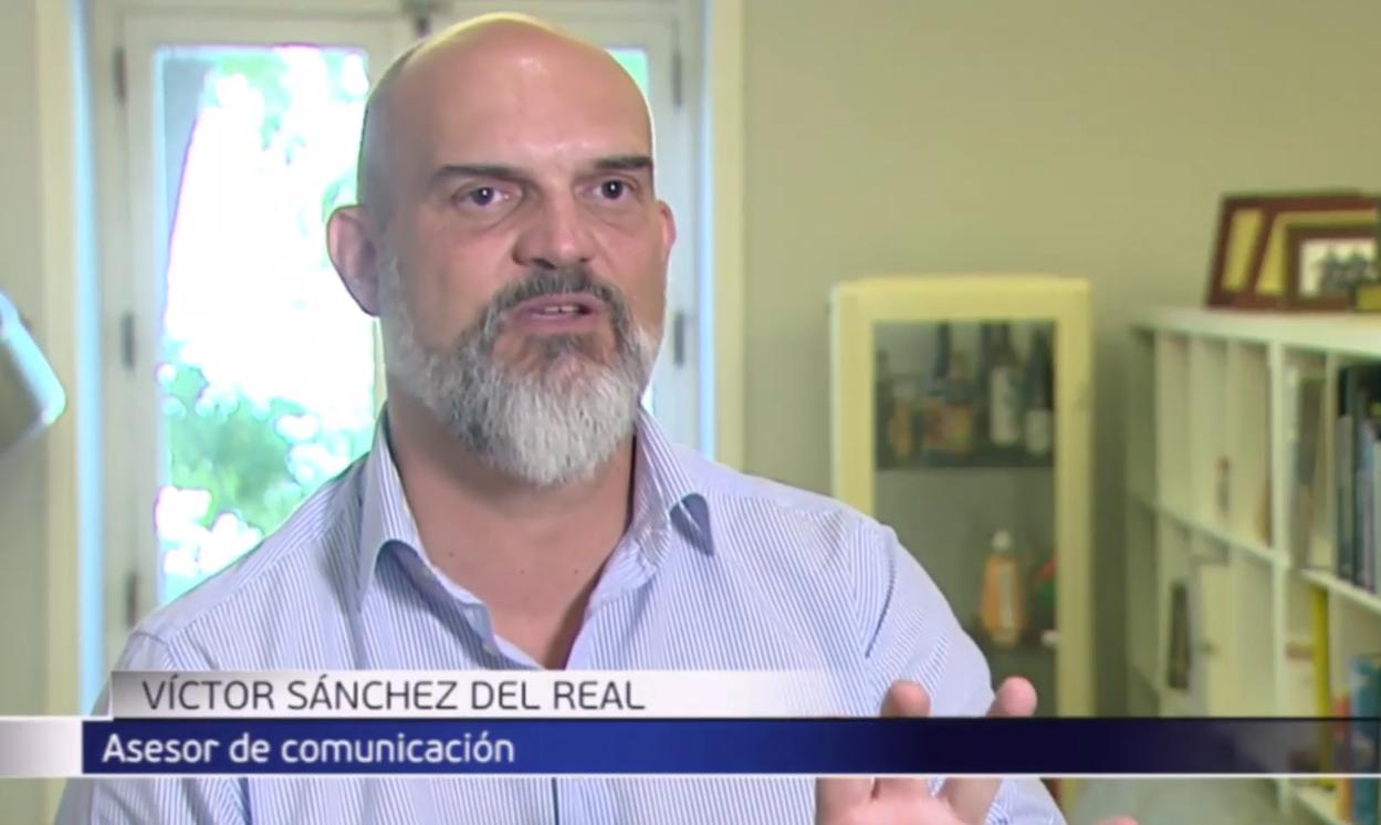 Víctor Sánchez Del Real, fundador de Elocuent, analiza en Informativos Telecinco las claves de la marca personal